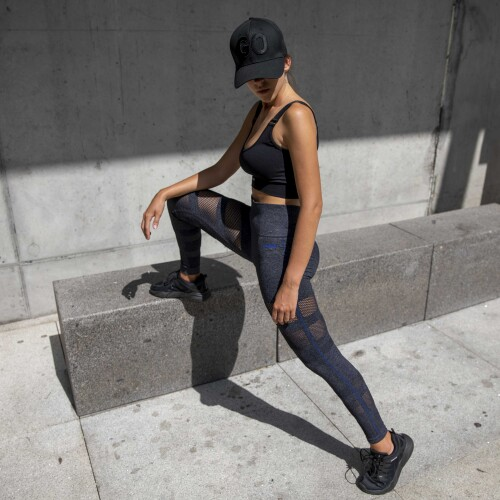 X-Skin Cedar Leggings - Dark Grey