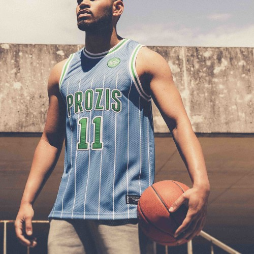 X-College Basketball Jersey - Swedish Blue