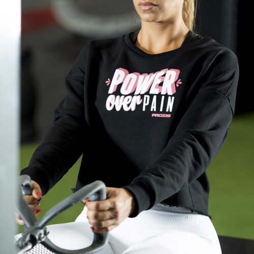 Power Up Sudadera corta - Power Over Pain