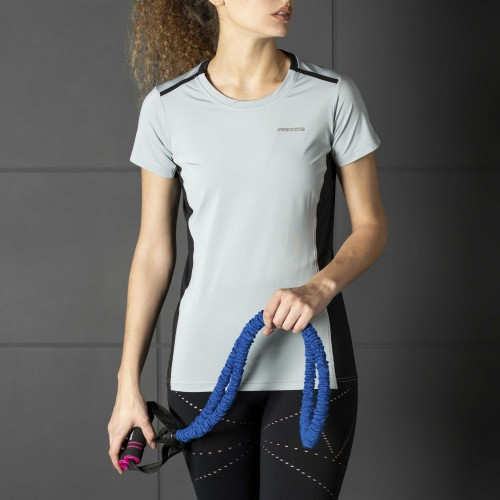 Camiseta X-Gym - Spin W Grey