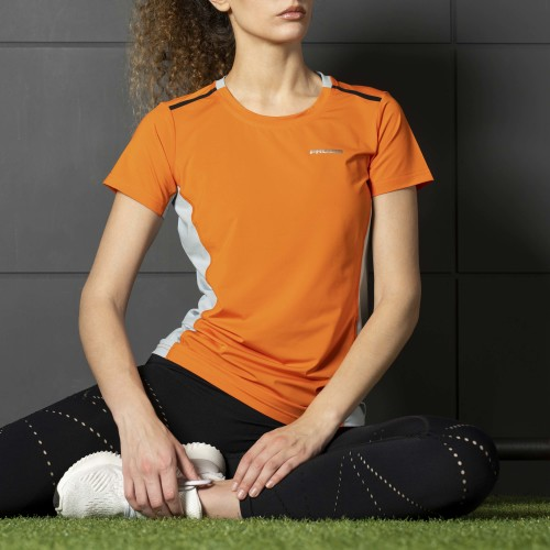 Camiseta X-Gym - Spin W Orange
