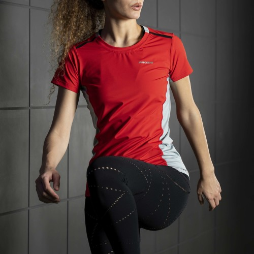 T-Shirt X-Gym - Spin W Red