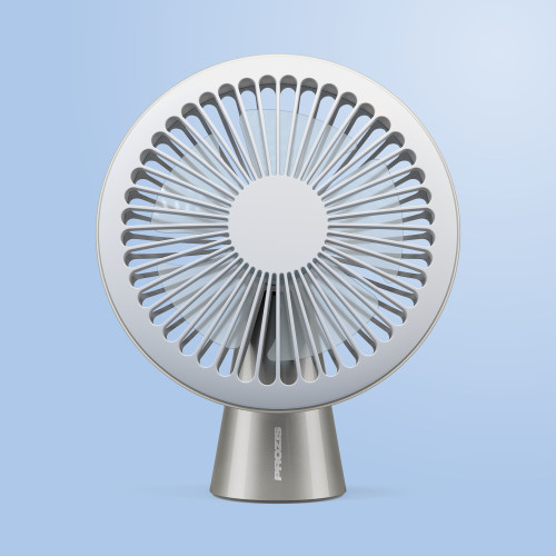 Bree USB Fan — Cream