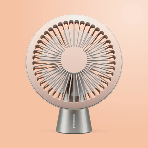 Bree USB Fan — Peach