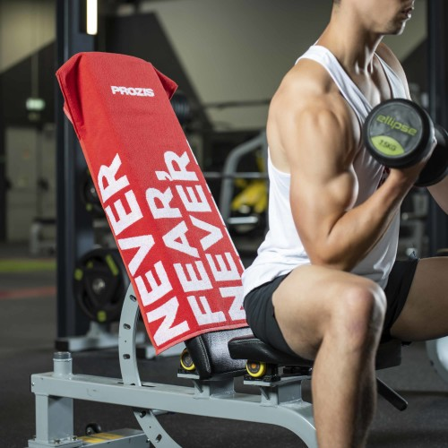 Gearsafe Gym Bench Towel - Red