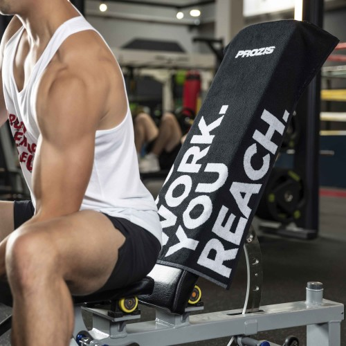Gearsafe Gym Bench Towel - Black
