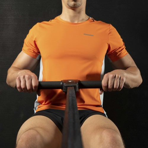 Camiseta X-Gym - Spin M Orange