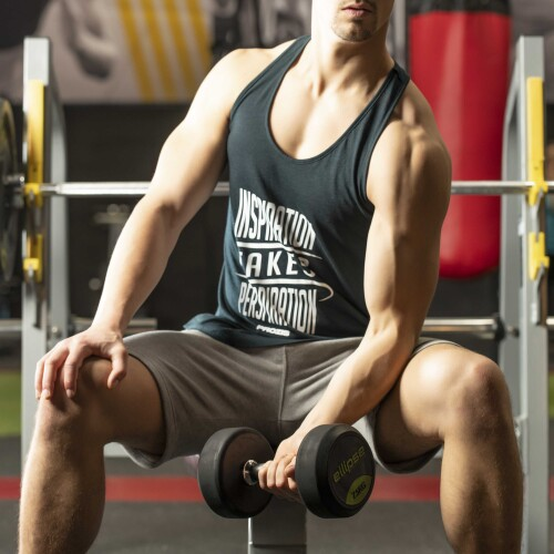 Power Up Tank Top - Inspiration takes Perspiration