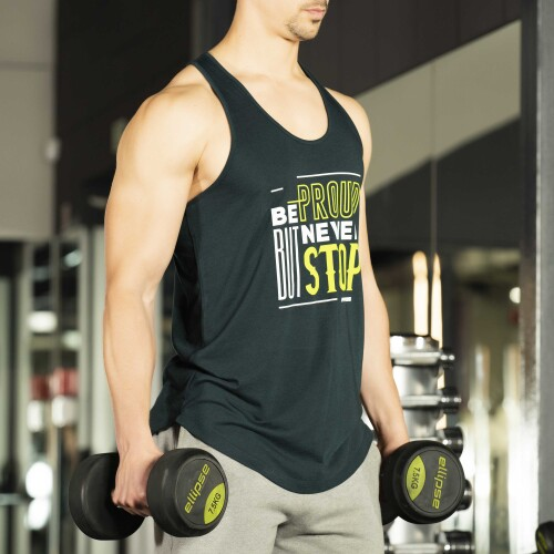 Power Up Tank Top - Be proud but never stop