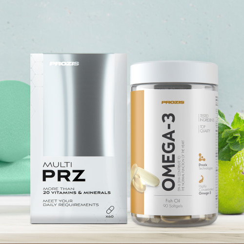 Multi PRZ 60 tabs + Omega 3 90 softgels