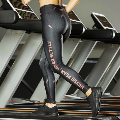 Power Up Leggings - Never Settle