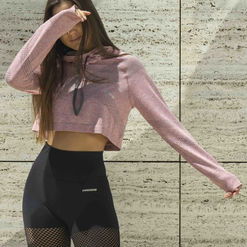 X-Skin Tucana Crop Top - Sharon Pink