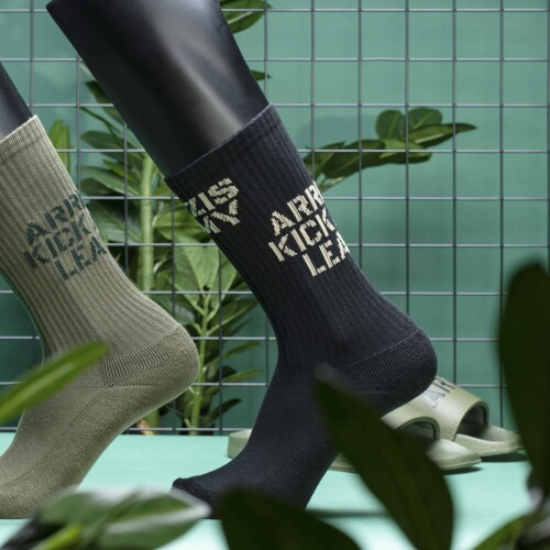 Army Combat Quarter Socks - Stealth Black