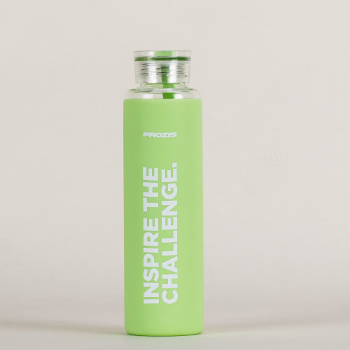 Mantra Glass Bottle - Green 550 ml