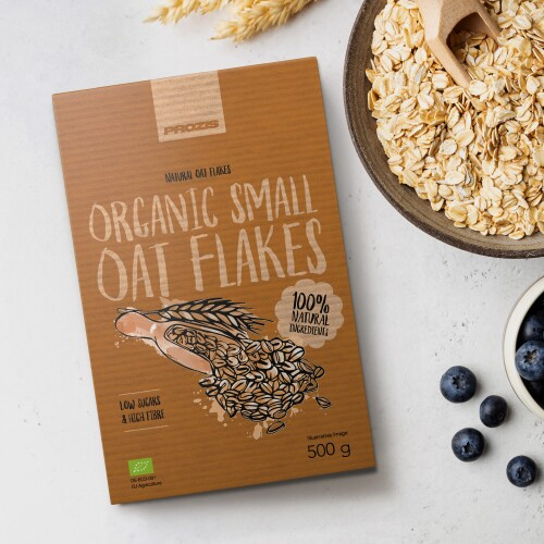 Organic Oat Flakes - Small Flakes 500 g