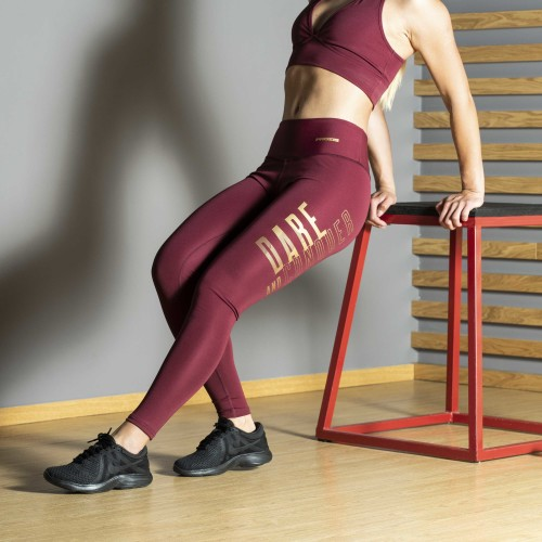 Power Up Leggings - Dare and Conquer
