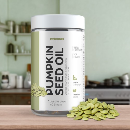 Pumpkin Seed Oil 1000 mg 60 softgels