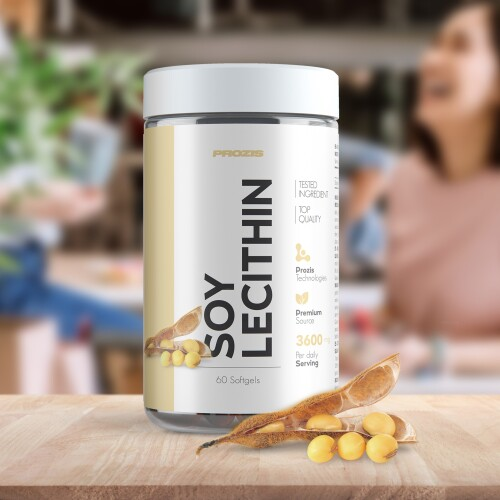 Soy Lecithin 1200 mg 60 softgels