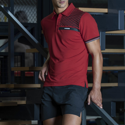 Prozis Polo - Corporate Red M