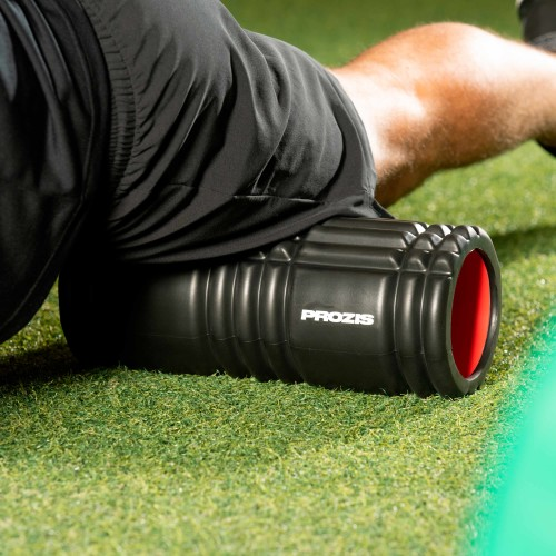 EVA Foam Roller - Black/Red