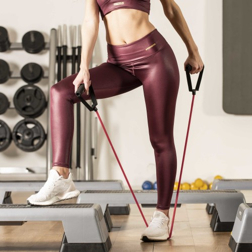 X-Sense Sharp Leggings - Red Plum