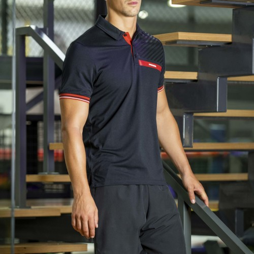 Corporate Men Polo - Black
