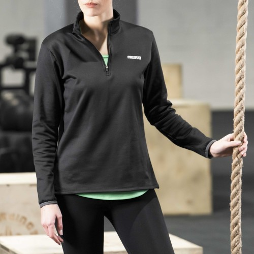 X-Gym Woman Midlayer - Black