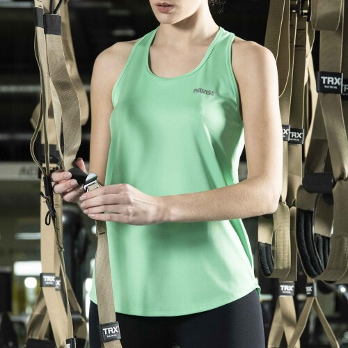 X-Gym Woman Singlet - Ace Green