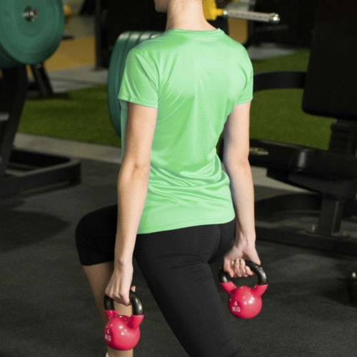 X-Gym Woman T-Shirt - Ace Green