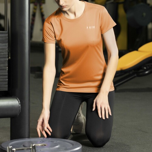 X-Gym Woman T-Shirt - Ace Orange