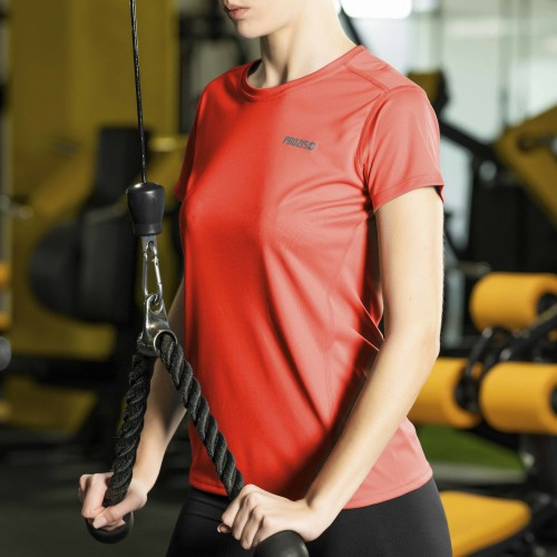 X-Gym Woman T-Shirt - Ace Red