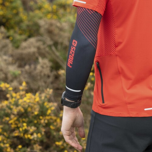 X-Motion Arm Warmers - Red