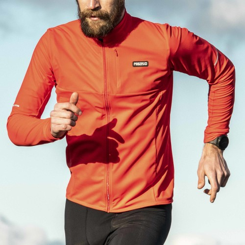 X-Motion Zip Midlayer - Supersoft Red