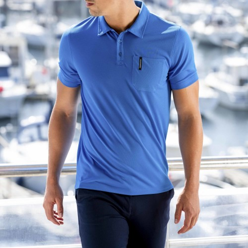 Breezy Men Polo - Blue