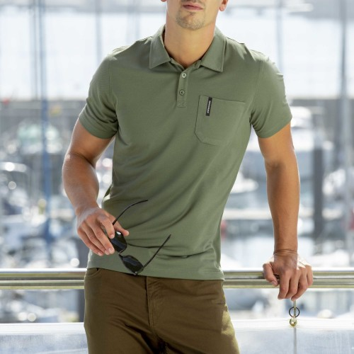 Breezy Men Polo - Khaki