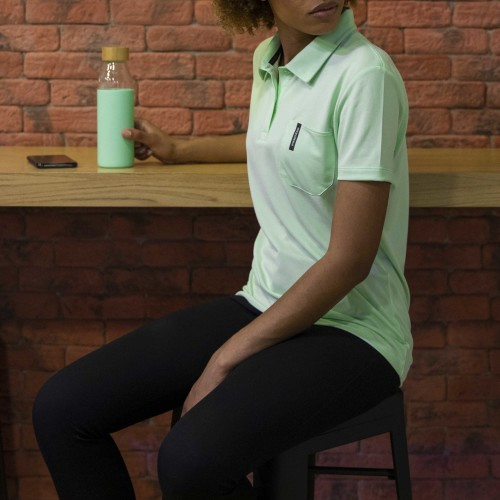 Breezy Woman Polo - Mint