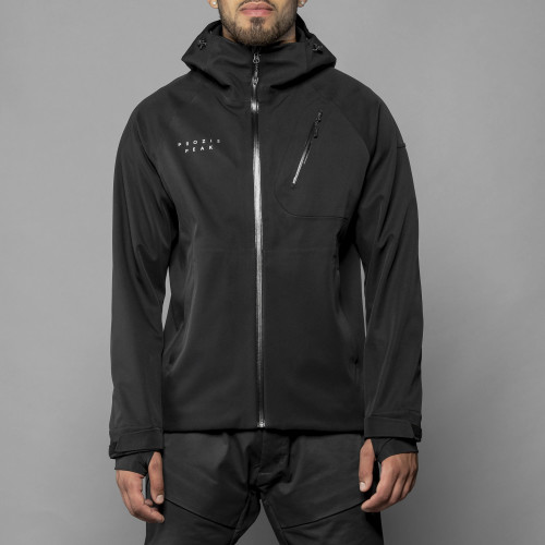 Peak Softshell Jacket - Ghost Black