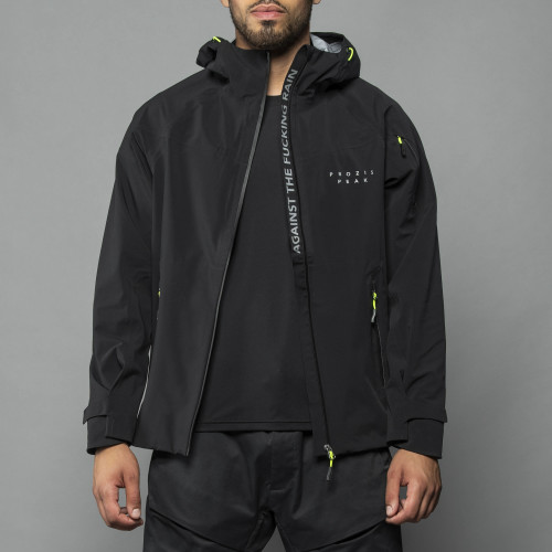 Peak - React Black Waterproof Jacket