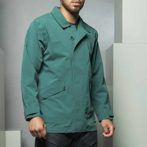 Peak Coat - Blade Runner Green
