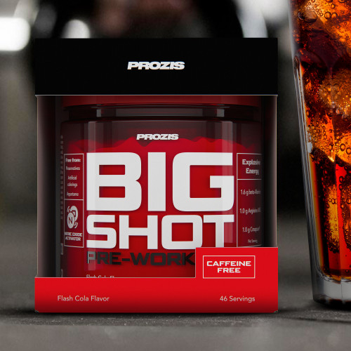 Big Shot - Pre-Workout Sans Caféine 46 doses