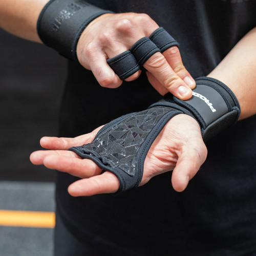 Fitness & Gym Training Gloves - Black/Grey