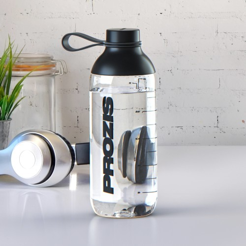 Fusion Shaker Bottle Cristal - Black