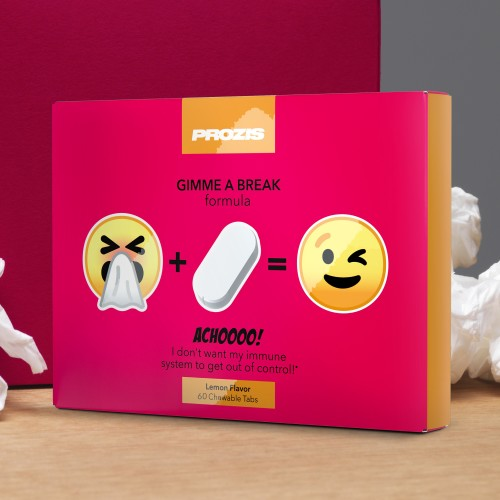 ACHOOOO! - Gimme a break 60 Chewable tabs