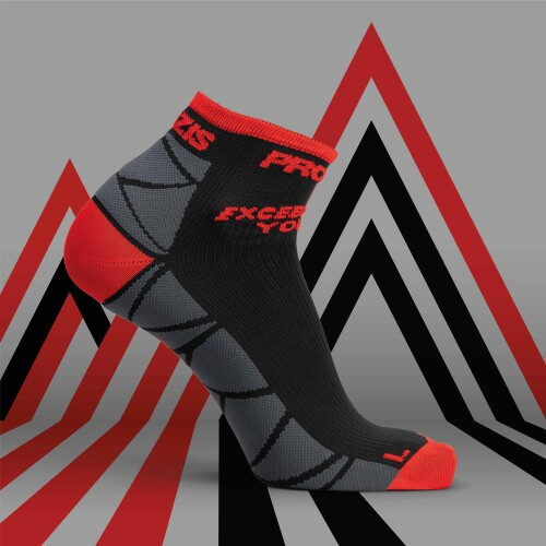 B-Active Viertel Socken - Sparks Racing
