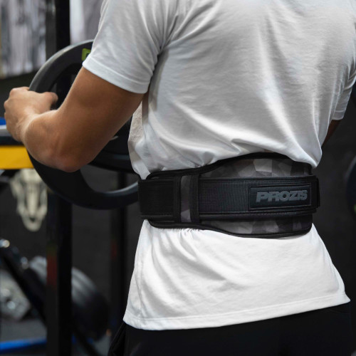 Gym Weight Lifting Belt - Black
