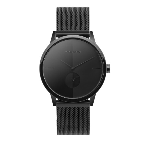Uhr  - Split-Second Stealth Black