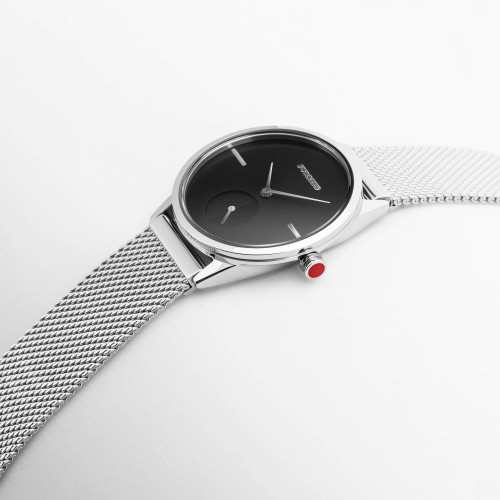 Montre  - Split-Second Small Mercury Silver