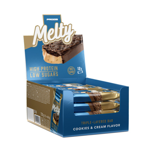 12 x Melty 60 g - Low Sugar Protein Bar