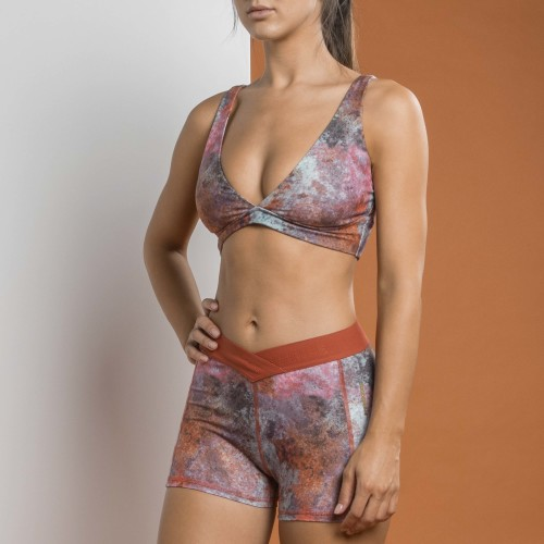 X-Sense Sports Bra - Nangka Earth