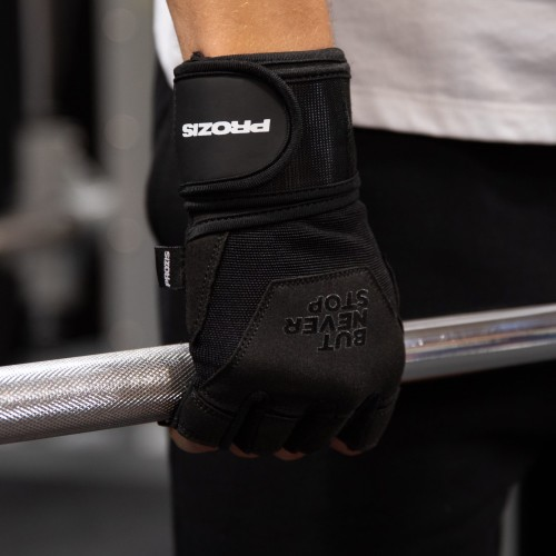 Be Proud Gel Grip Gloves with Wrist Protection